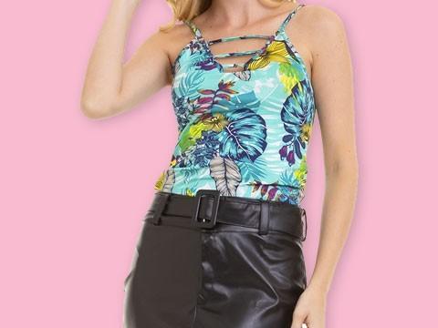Blusas e Camisetas Femininas - Ótimos Preços   Lojas Conexão