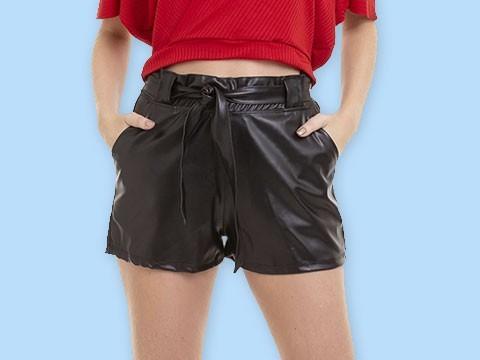 Shorts e Saias Femininas - Melhores Preços   Lojas Conexão